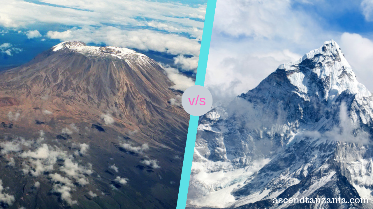 Kilimanjaro VS Everest