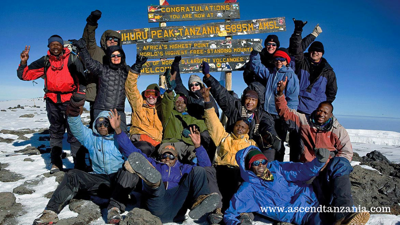 Success Rate on Kilimanjaro