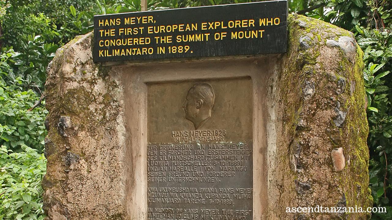 Few first steps on Kilimanjaro