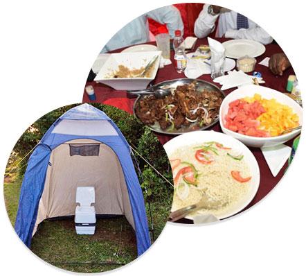 Facilites On Kilimanjaro