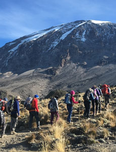 Choosing Machame Route To Climb Kilimanjaro