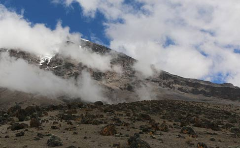 Machame Route Summit Overview