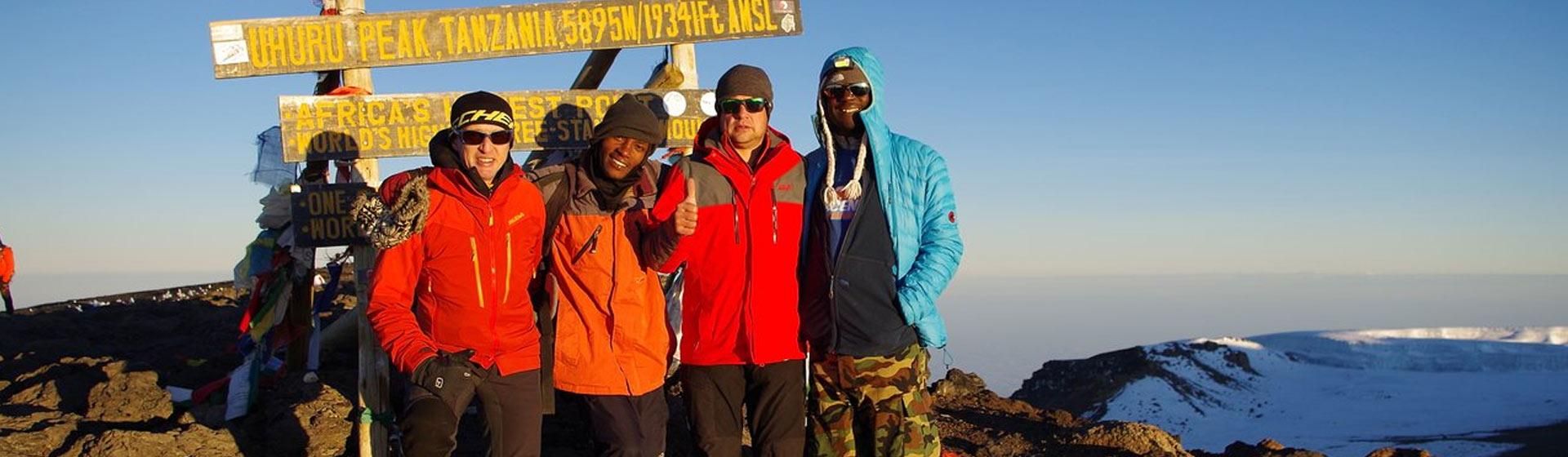 Kilimanjaro Group Climbs